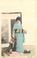 JAPON - FEMME JAPONAISE - GAICHA  - LADY - FRAU - Femmes