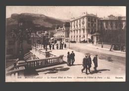 Monaco / Monte-Carlo - Le Nouvel Hôtel De Paris - Annexe L'Hôtel De Paris - Animée - 1918 - Hôtels
