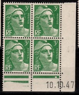 Coin Daté YV 716A N** Gandon Du 10.10.47 - 1940-1949