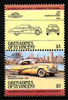 GRENADINES DE St VINCENT. 2 Timbres. Buick De 1949. - Coches