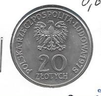 Polen 20 Zloty 1978 - KM 97 - Pologne