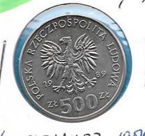 Polen 500 Zloty 1989 - KM 185 - Pologne