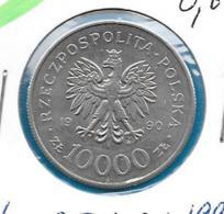 Polen 10000 Zloty 1990 - KM 195 - Pologne