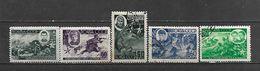 1944 - N. 931/35 USATI (CATALOGO UNIFICATO) - Used Stamps