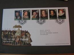 GB FDC 2009   Monarchie Tudor 2750-2756 - FDC