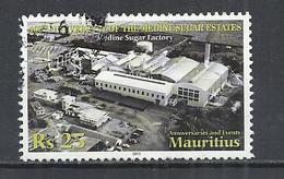 MAURITIUS 2011 - SUGAR FACTORY -  POSTALLY USED OBLITERE GESTEMPELT USADO - Mauritius (1968-...)