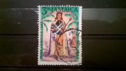 FRANCOBOLLI STAMPS GIAMAICA JAMAICA 1964 USED MISS WORLD 1963 - Giamaica (1962-...)
