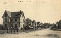 28 - Eure Et Loir - La Bazoche-Gouet - Avenue De La Gare - C 3713 - Autres Communes