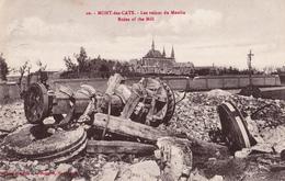 MONT DES CATS   59 ( LES RUINES DU MOULIN  ) GUERRE 14 18 THE WAR - France