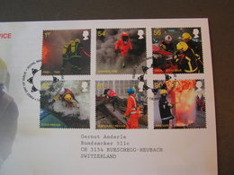 GB FDC 2009  Feuerwehr 2781-2796 - 2001-2010 Dezimalausgaben