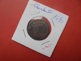 PAYS-BAS ESPAGNOLS CHARLES II. LIARD 1690 (A.2) - Belgique