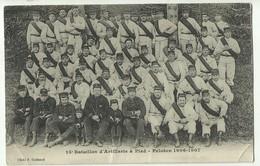 CPA 50 15ème Bataillon D'Artillerie à Pied - Peloton 1906-1907      Gc26 - Cherbourg
