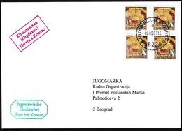 2001, Kosowo, Serbische Post In Kosovo, Microvita. - Kosovo
