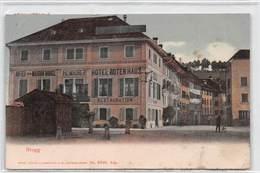 Brugg Hotel Rotenhaus - Hotel De La Maison Rouge H. Maurer - AG Aargau