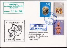 2000, Kosowo, 1/3 Brief Feldpost KFOR - Kosovo