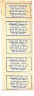 342/28  --  RARE Etiquettes-Motifs TRILINGUES (All. FR. NL)  Neuves Avec Gomme - Bande De 5 Grand Format - Documents Of Postal Services