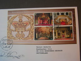 GB FDC 2014  Royal Palace - Blocks & Kleinbögen