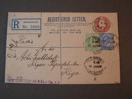 GB  Rcv. To Riga 1909  Newcastle - 1902-1951 (Könige)