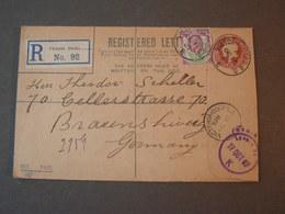 GB  Rcv. To Germany 1916  Victoeia Docks - 1902-1951 (Könige)
