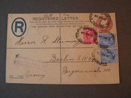 GB  Rcv. To Berlin 1904  Late Fee - 1902-1951 (Könige)
