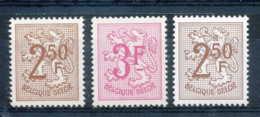 [150779]N° 1544/45 + 1544P5 (polyvalent), Lion Héraldique, SNC - Belgique