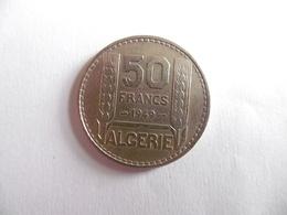 A521)-ALGERIE-PIECE DE 50 FRANCS 1949-ETAT TTB - Algérie