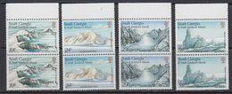 South Georgia 1989 Glacier Formations 4v (pair) ** Mnh (41715B) - Zuid-Georgia