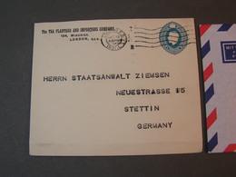 GB  Umschalg 1931 To Stettin - 1902-1951 (Könige)