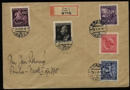 WW II Böhmen Und Mähren SS Führer Heinrich Heydrich Todestag FDC Auf R - Briefumschlag : Gebraucht Prag 28.5.1943 , Be - Deutschland