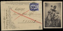 WW II DR LUPO Feldpostbrief Mit Bild Mutter Mit Kinder: Gebraucht Ludwigsburg - 59599 1943, Bedarfserhaltung Mit Inhal - Deutschland