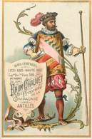 CHROMO RHUM CHAUVET MARTINIQUE COMPAGNIE DES ANTILLES - Trade Cards