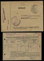 WW II DR Feldpost Polen Militär Lazarett Meldung : Gebraucht Posen - Bremen 1942 , Bedarfserhaltung. - Deutschland