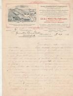 Belgique Facture Lettre Illustrée 18/5/1912 MEES Apiculture Marque L' Abeille Ruches Cire Extracteurs HERENTHALS - 1900 – 1949