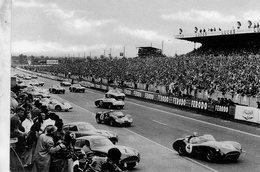 24 Heures Du Mans  -  1961- Le Depart - Aston Martin-Ferrari-Maserati  -  CPM - Le Mans