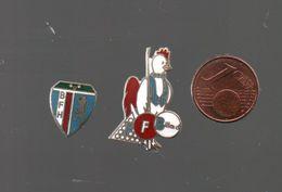 Pin's BILLARD.. COINDEROUX CORNER POUR LE COQ...BT5 - Billiards