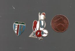 Pin's BILLARD.. COINDEROUX CORNER POUR LE COQ...BT5 - Billard