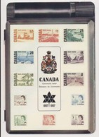 AK15 Centennial Issue Canadian Stamps - Postcard/order Form - Stamps (pictures)