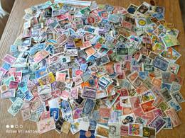 B10R-LOTE COLECCION 2000 SELLOS  MUNDIALES,UNIVERSALES DIFERENTES ,SIN TASAR.2000 SELLOS DISTINTOS MUNDIALES,REGALO - Colecciones (sin álbumes)
