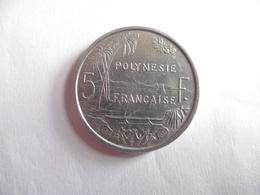 (A142)-POLYNESIE FRANCAISE-5 FRANCS 1975-ETAT TB - Frans-Polynesië