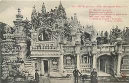 10 CPA 26 Drome Hauterives Palais Idéal Facteur Cheval Tombeau Mosquée Temple Hindou Chalet Suisse Terrasse Façade Neuve - Hauterives