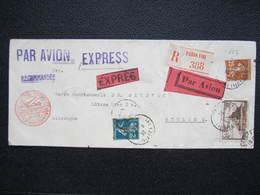 BRIEF Paris - Berlin Luftpost Express 1933  ///  D*36260 - France