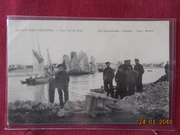 CPA - Grand-Fort-Philippe - Une Vue Du Port - France