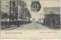 Waterloo.   -   Environs De Bruxelles.   -   La Ferme De Mont St. Jean    -   Mooie Kaart!  1903   Charleroi - Waterloo