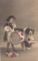 AR05 Animals - Young Boy With St. Bernard Dog - Dogs