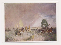 AK03 Shipping - Shipping At The Mouth Of The Thames By JMW Turner - Ships