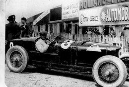 Grand Prix De France Montlhery 1925   -  Antonio Ascari (Alfa Romeo)  -  Carte Postale Modern Miniature - Grand Prix / F1