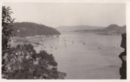 AS18 Shipping - Moored Boats In An Estuary - RPPC - Ships