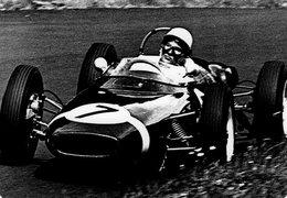 Grand Prix D'Allemagne 1961  -  Stirling Moss (Lotus)  -  Carte Postale Modern Miniature - Grand Prix / F1