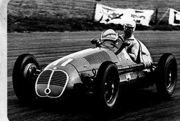Grand Prix D'Angleterre 1948  -  Alberto Ascari  (Maserati)  -  Carte Postale Modern Miniature - Grand Prix / F1