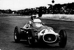 Grand Prix D'Angleterre 1953 -  Jack Fairman (HWM)  -  Carte Postale Modern Miniature - Grand Prix / F1